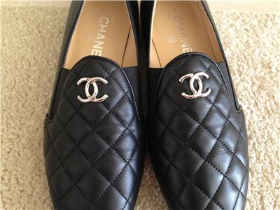 chanel men shoes. chanel black quilted loafers flats shoes sz 8 5 39 875 ebay; men s