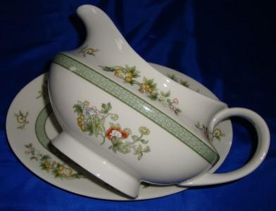 Royal Doulton Tonkin English Bone China Tea Cup and Saucer Set Duo