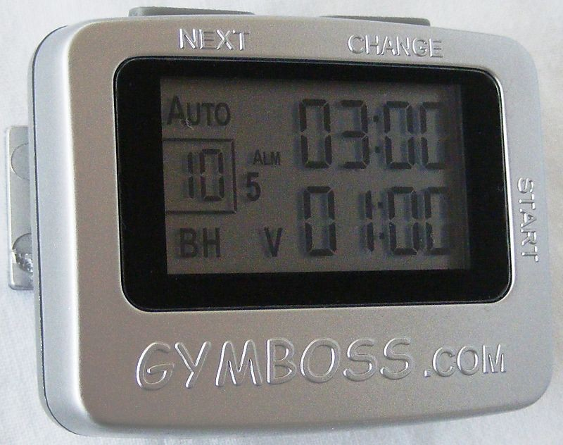 gymboss timer extreme fitness tipsthis quality interval timer will make any workout easier to plan and execute with more accuracy and consistency