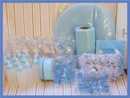 boy baby shower table decor photograph boy baby shower