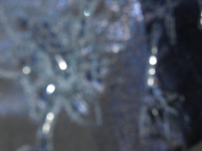 WITH TAGS $220.00 ALEX EVENINGS COBALT BLUE LONG SLEEVELESS DRESS