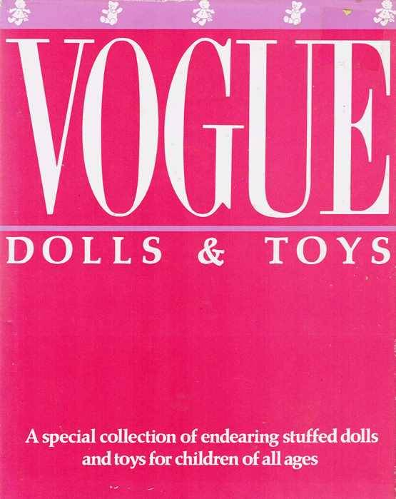 Vintage-VOGUE-DOLLS-TOYS-Special-Collection-Patterns-Dolls-Bears-and-Toys