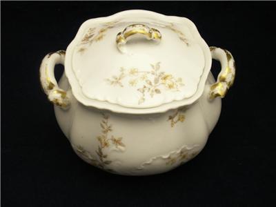 haviland limoges h c l france sugar bowl yellow floral sprays 9 blank ebay. Black Bedroom Furniture Sets. Home Design Ideas