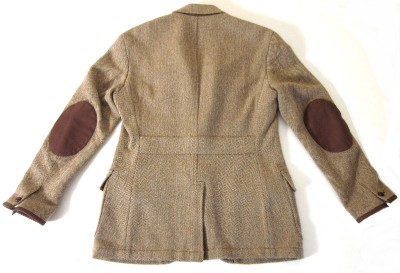 Old Knock: Old Knock Wardrobe: Tweed Jacket with Elbow Patches