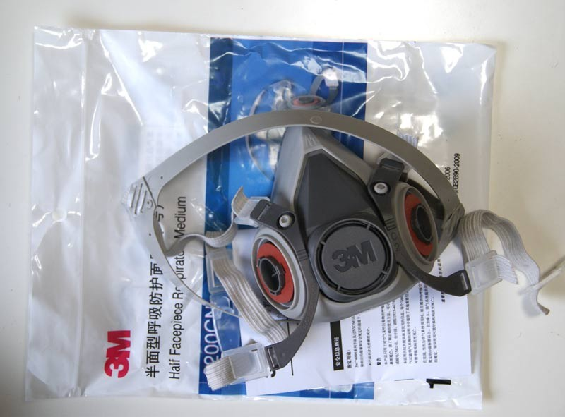 3M-6200-Respirator-Painting-Spraying-Face-Gas-Main-Mask