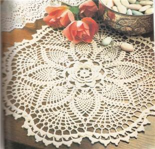 LARGE CROCHET DOILY - Crochet — Learn How to Crochet