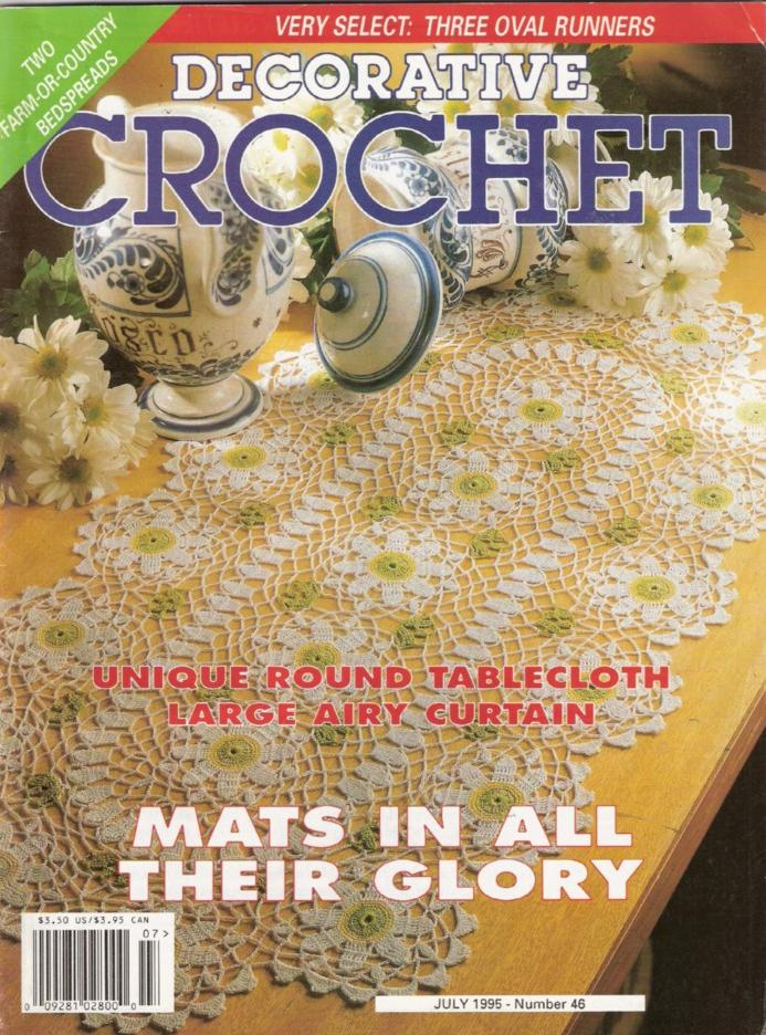 Vintage & Contemporary Crochet Books - Crochet Name Doily, Doilies