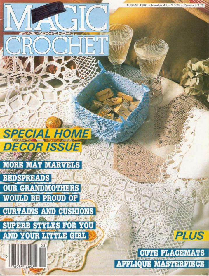 Learn How To Crochet Magazine : CROCHET DOILIES MAGAZINE MAGIC - Crochet - Learn How to Crochet