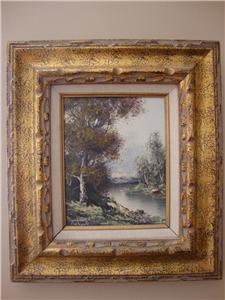 Impressionists Oil Painting Gianni Tedeschi Italian Ebay
