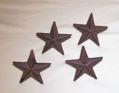 Western home decor stars wall decor items in rustic cast for Lone star home decor