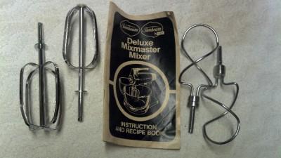 sunbeam mixmaster dough hook instructions