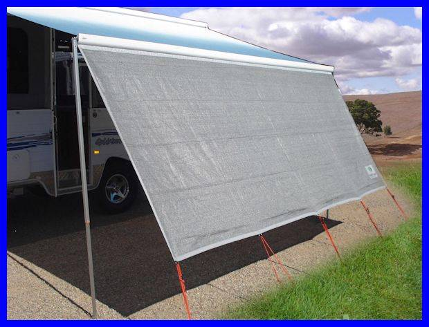 Brilliant Some Awnings Have Material All The Way Up To The Awning Rail On The Side Of The RV, And Some Have A Metal Weather Guard, Which Wraps Around The Awning When Stowed For Travel Especially In The Spring When The Awning Is Opened For