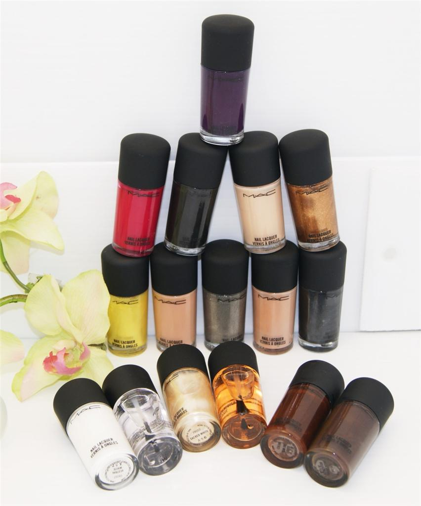 MAC NAIL POLISH LACQUER ~ CHOOSE YOUR COLOR ~ FULL SIZE!!! NEW IN BOX!!!