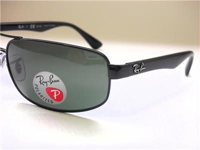 ray ban aviator 55 polarized  ray-ban rb3445 002/58