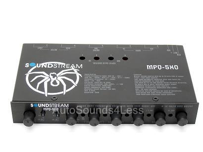 SOUNDSTREAM-MPQ-5XO-5-BAND-EQ-CROSSOVER-EQUALIZIER-NEW