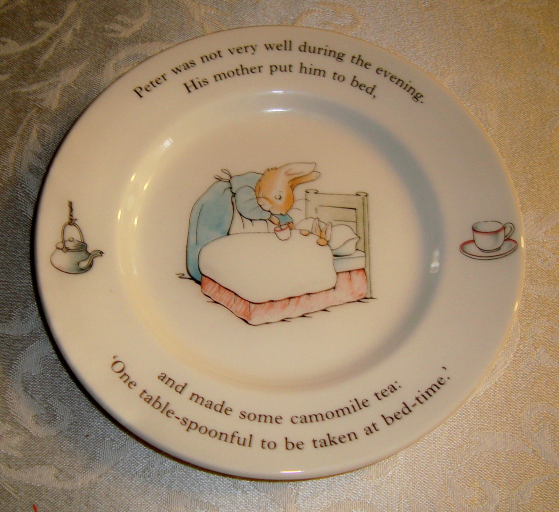 CUTE WEDGWOOD PETER RABBIT PLATE 1993