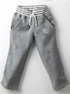 Mida-Boys-Fleecy-Cotton-Track-Pants-Size-2-Grey-New