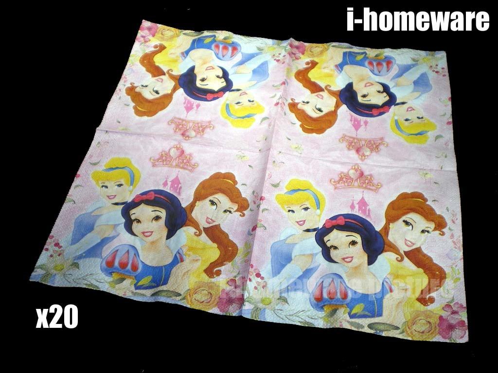 Princess Snow White Bella Cinderella Disney Birthday Party All in One