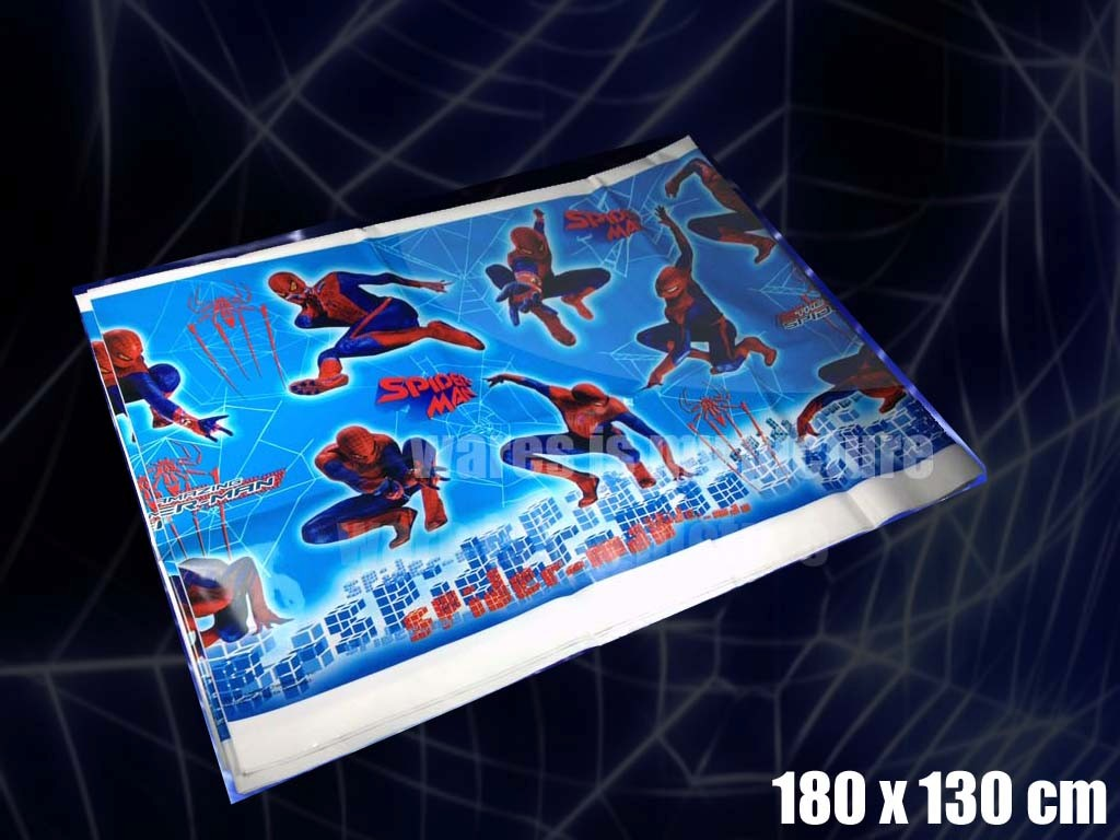 Spiderman-Party-Supply-Balloon-Plate-Cup-Napkin-Fork-Banner-Flag-Blowout-Mask