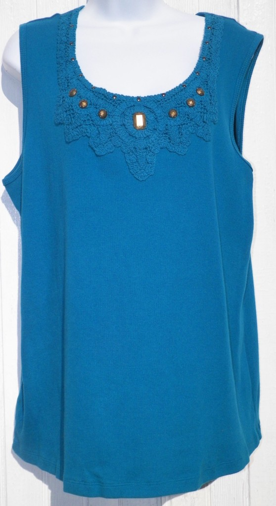 Amazon.com: teal lace top