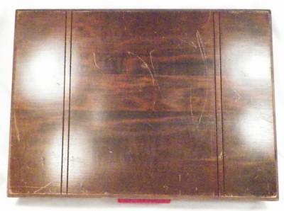 Vintage Wooden Flatware Storage Box Silverware Chest Art Deco ...