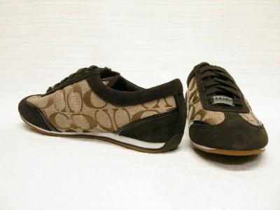 coach sneaker shoes katelyn signature tennis shoes brown