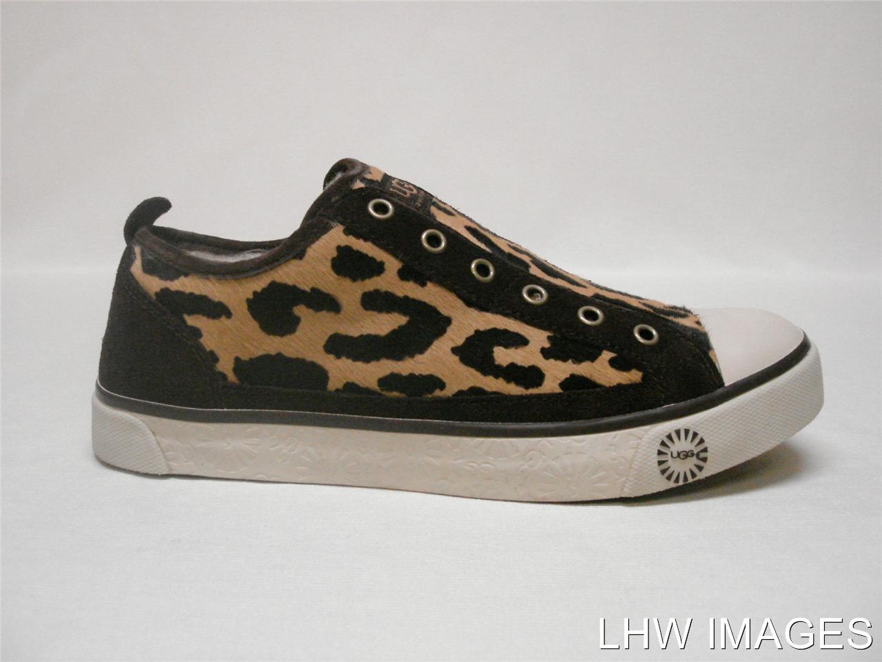 130 nib ugg australia w laela cheetah haircalf