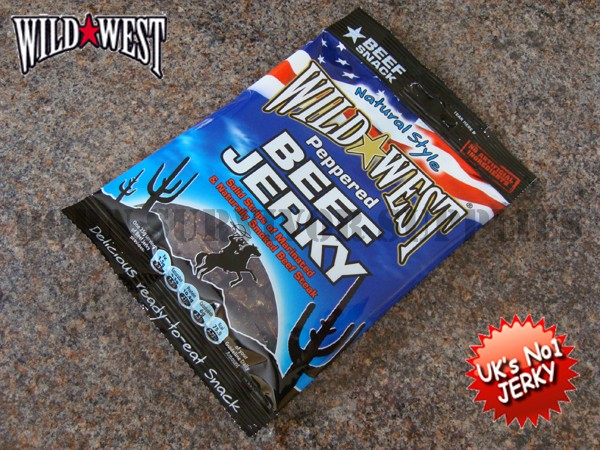 Wild west beef jerky 25g survival ration pack food for Backpacking fishing kit