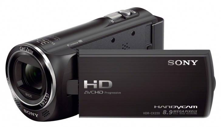SONY-Full-HD-Camcorder-Black-HDR-CX220E-32x-Extended-Zoom-2-7-LCD-8GB-SDHC