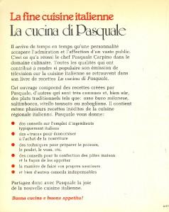 Fine cuisine italienne par pasquale carpino puis for Cuisine italienne