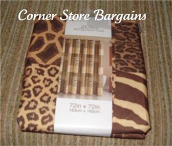 Cheetah Pink Shower Curtain - Baby Bedding, Girls Bedding, Boys