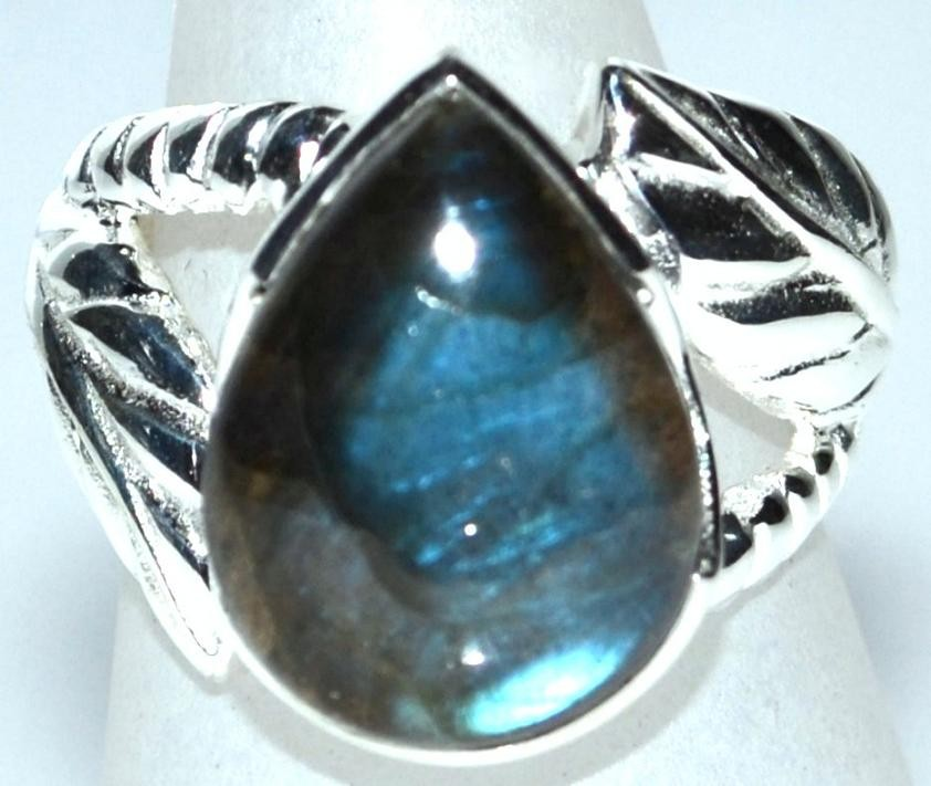 labradorite gemstone chunky unique 925 sterling silver