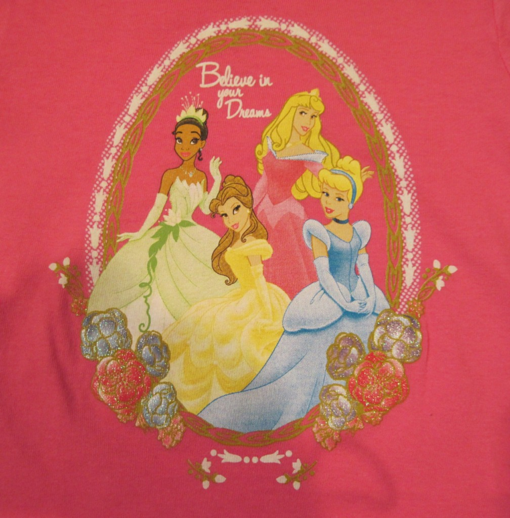 TOY-STORY-or-DISNEY-PRINCESS-Color-Change-Shirt-NWT