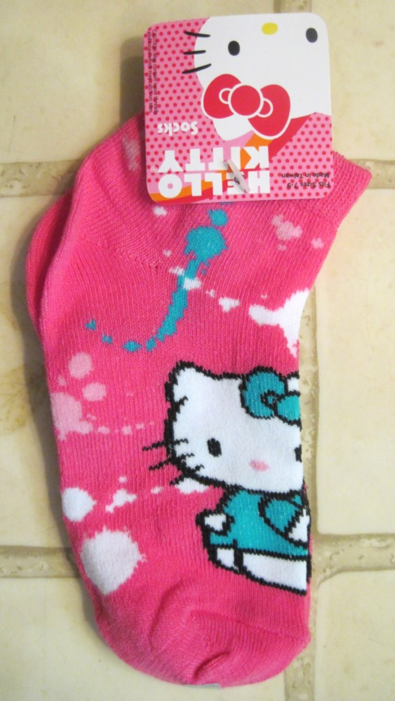 Girls HELLO KITTY Socks ~ Pattern Size Choice ~ NEW eBay