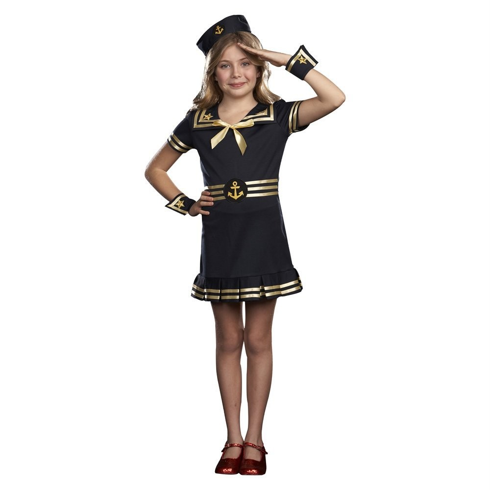 Come Sail Away! in our Sailor Dress-this adorable vintage dress is ideal for beach pictures! Coordinate with the rest of our Sailor Collection for precious matching sibling sets. .