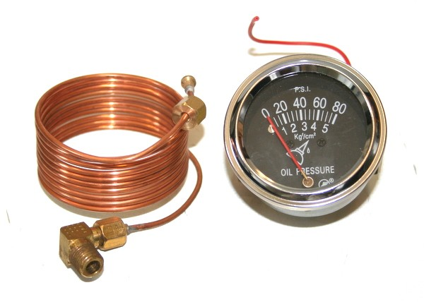 1953 ford oil gauge wiring