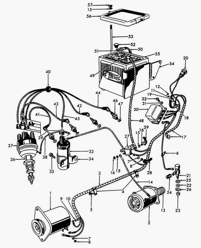 ford 4000 tractor parts diagram car interior design Ford 801 Parts Diagram 801 Powermaster Tractor Wiring Diagram