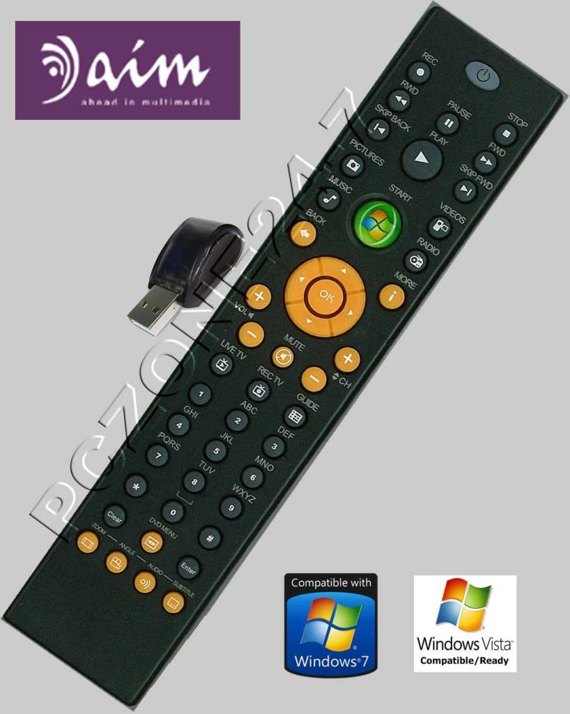Aim Remote Control Windows 7 Vista Media Center Mce