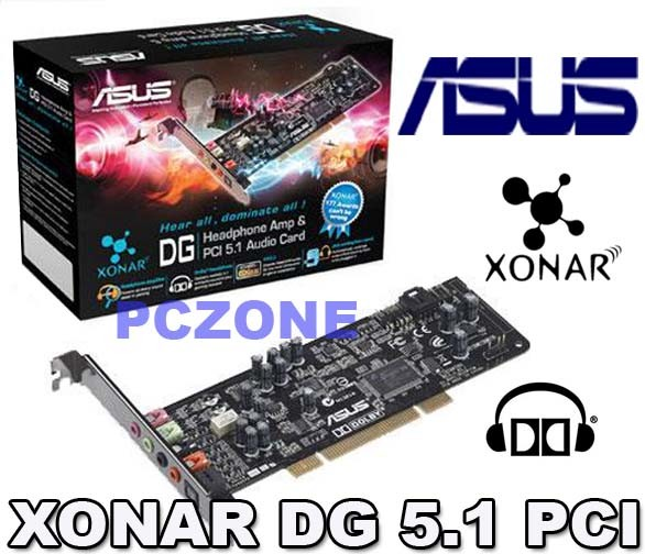 ASUS-XONAR-DG-5-1-CHANNELS-DOLBY-HEADPHONE-AUDIO-PCI-SOUND-CARD