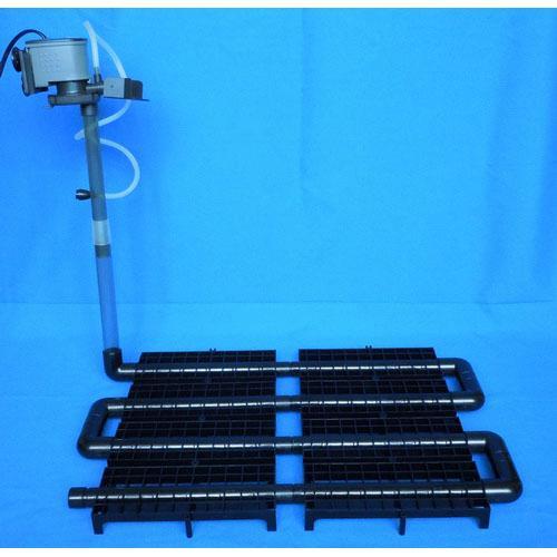 Fish tank bio undergravel filter w pump 650lph max 2ft ebay for Fish tank bottom filter