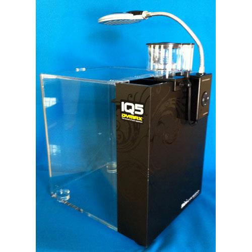 Dymax iq5 aquarium marine fish tank with protein skimmer for Fish filter system