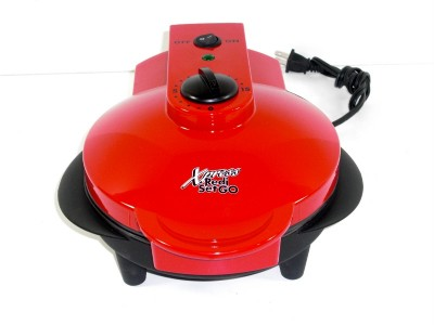 Xpress Countertop Cooker : Details about Xpress Redi Set Go Red Countertop Indoor Grill Cooker