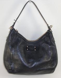 Kate Spade New York Black Leather Authentic Satchel Shoulder Handbag