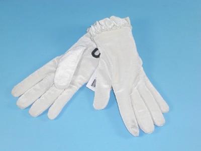 Leopard velvet gloves - TheFind