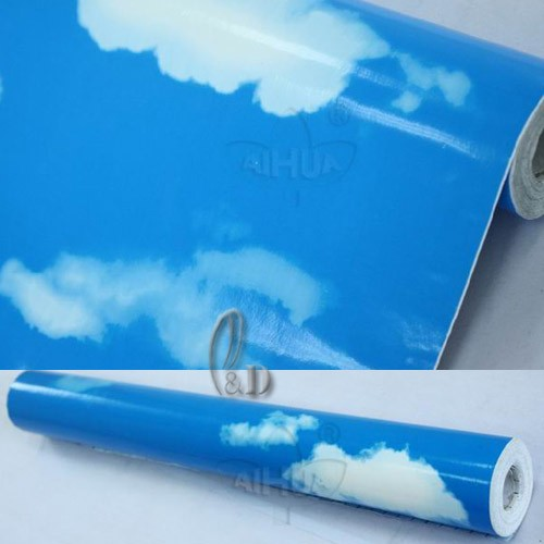 45cm-x-10m-Roll-Blue-Sky-Pattern-Vinyl-Film-Furniture-Wall-Paper-Sticker-p1117