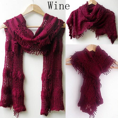au seller knit warmer winter scarf shawl wrap sc010 ebay