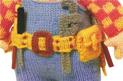 Alan Dart Toy Knitting Pattern Bob The Builder VGC   eBay
