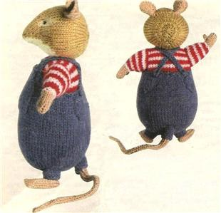 Details about Alan Dart Knit Pattern WILFRED TOADFLAX Brambly Hedge