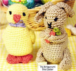 Easter Chick Knitting Chart - Knitting On The Net/Knit A Bit