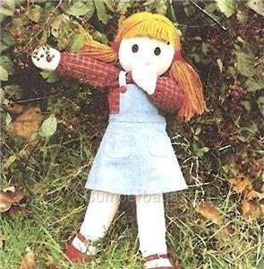 Cloth Dolls by Stitch 'N Stuff - Cloth Doll Pattern (Emily Jean)